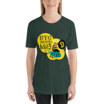 "Womens T-Shirt ""BTC Saved me"""