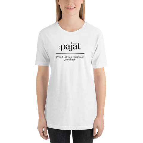 "Womens T-Shirt ""Pajat"""