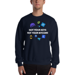 "Mens Sweatshirt ""Not Your Keys"""