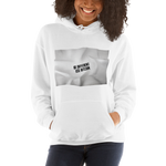 "Womens Hoodie ""Be Different Use BTC"""