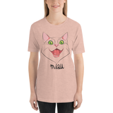 "Womens T-Shirt ""Miau Cat"""