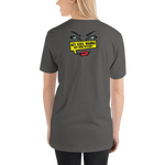 "Womens T-shirt ""HEY KIDS WANT TO BUY BTC"""
