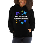 "Womens Hoodie ""Not Your Keys"""