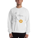 "Mens Sweatshirt  ""Do Something"""