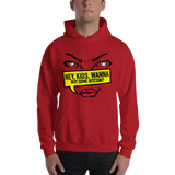 "Mens Hoodie ""Hey Kids Want to Buy BTC"""