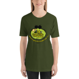 "Womens T-Shirt ""My wallet is like an Onion Green"""