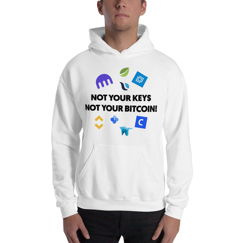 "Mens Hoodie ""Not Your Keys"""