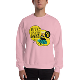 "Mens Sweatshirt ""BTC Saved Me"""