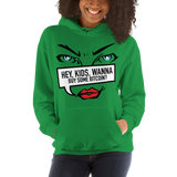 "Womens Hoodie ""Hey Kids Want To Buy BTC"""