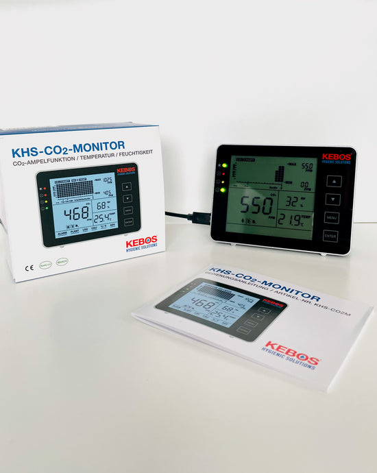 KHS-CO₂-Monitor mit Ampelfunktion