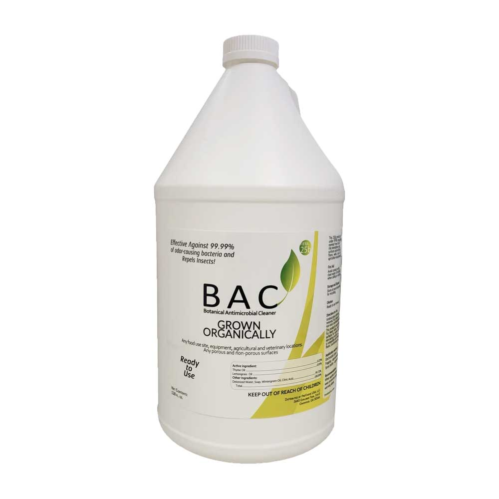 BAC 1 Gallon - Botanical Antimicrobial Cleaner