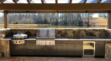 Custom Kitchen with Evo, True, and Hestan