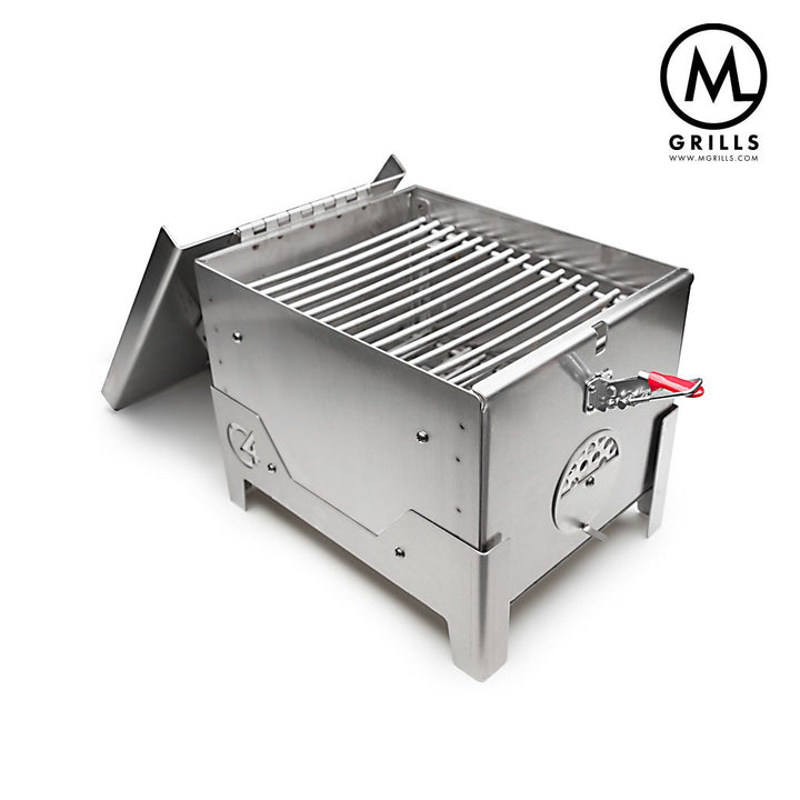 M Grills C4-S Stainless Portable Grill