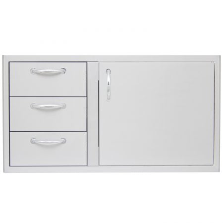 "Blaze 39"" Access Door and Triple Drawer Combo"
