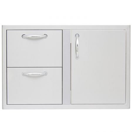 "Blaze 32"" Access Door and Double Drawer Combo"
