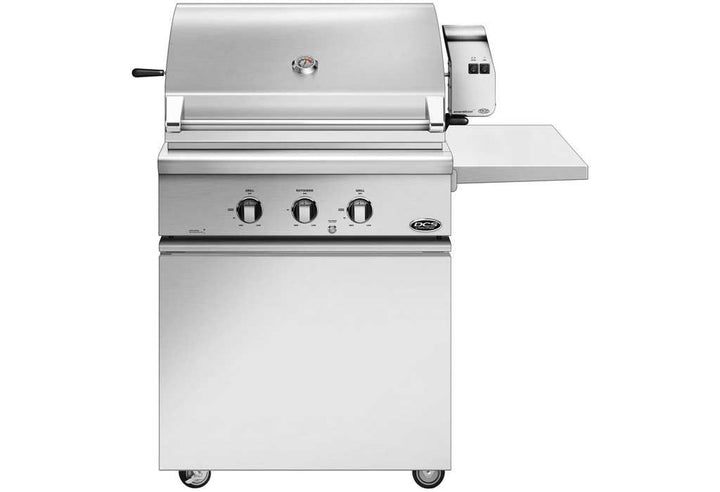 "DCS 30"" Traditional Grill With Rotisserie On Standard Cart with Side Shelf - BH1 Model 7 Series"