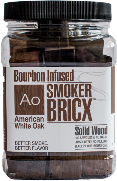 Bourbon Infused Smoker Bricx American Oak