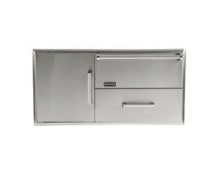 Coyote Combination Storage: Warming Drawer & Access Doors
