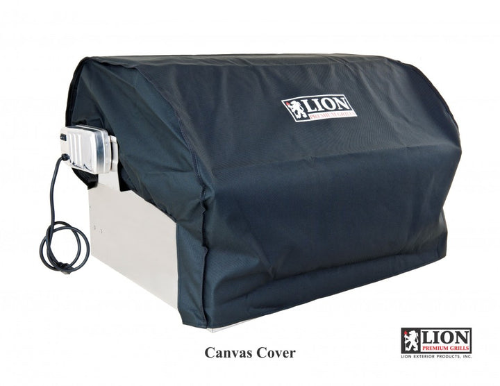 Lion Canvas BBQ Grill Cover