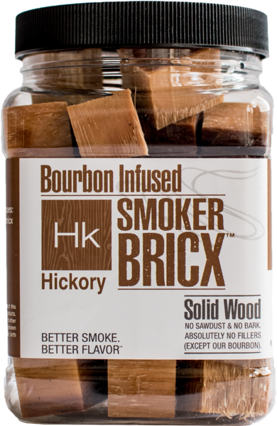 Bourbon Infused Smoker Bricx Hickory