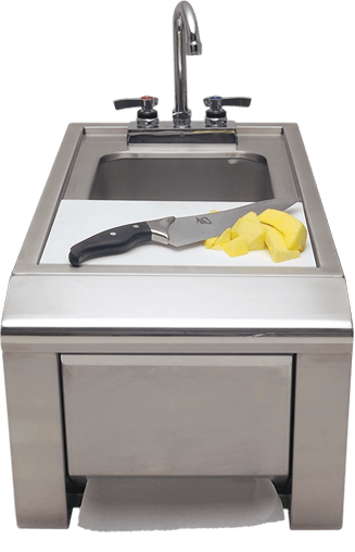 "Alfresco 14"" Prep & Hand Sink"