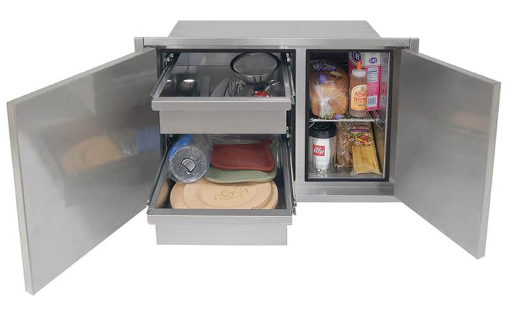 "Alfresco 36"" Dry Storage Pantry"