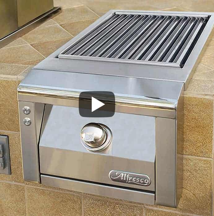 "Alfresco 14"" Built-In SearZone Side Burner"
