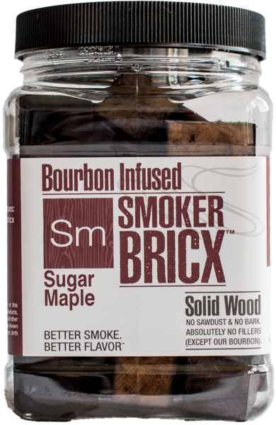 Bourbon Infused Smoker Bricx Sugar Maple