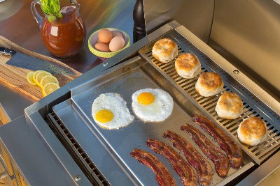 TEC Commercial-Style Flat-Top Griddle For Patio And Sterling Patio Grills