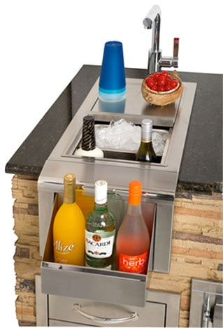 "Alfresco 14"" Versa Sink and Beverage Center"