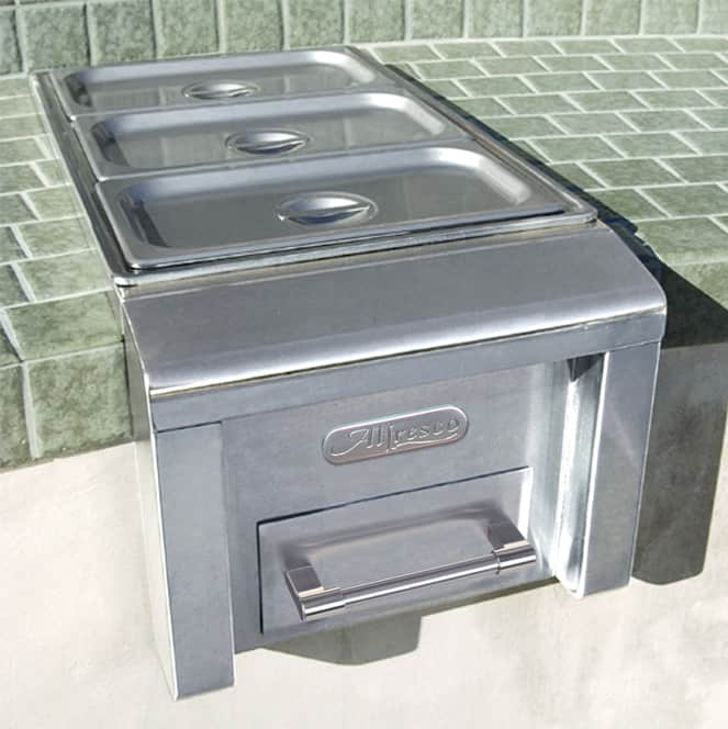 "Alfresco 14"" Food Warmer/Steam Table"
