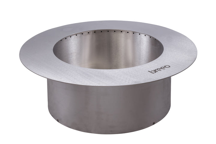Breeo Zentro Round Fire Pit Stainless Steel