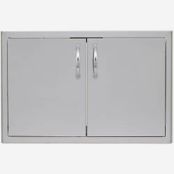 "Blaze 32"" Double Access Door with Paper Towel Holder"