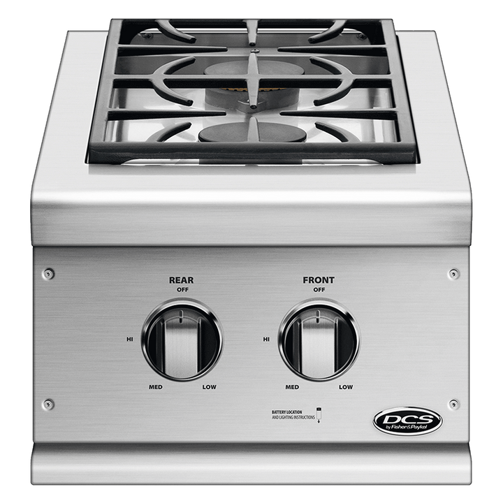 DCS Series 7 Double Side Burner Built-In