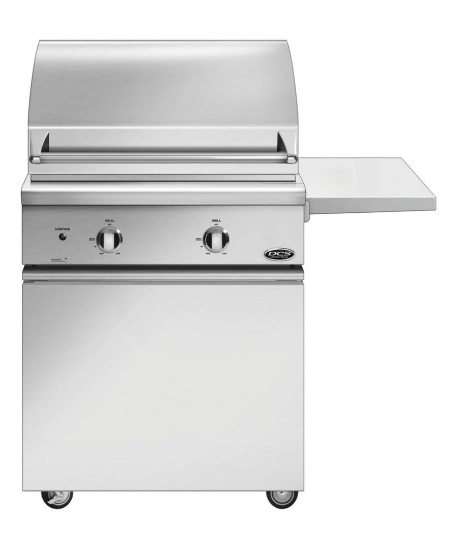 "DCS 30"" Traditional Grill Non Rotisserie On Standard Cart with Side Shelf - BGC Model"
