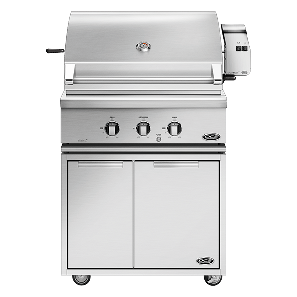 "DCS 30"" Traditional Grill With Rotisserie On CAD Cart - BH1 Model 7 Series"
