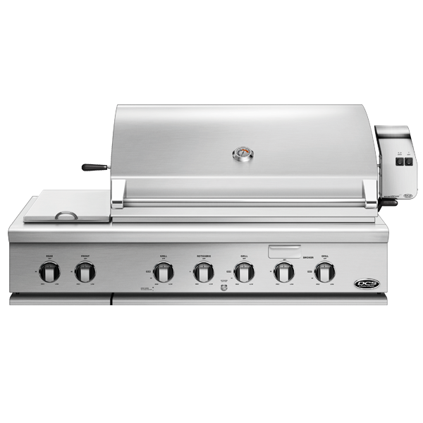 "DCS 48"" Traditional Built-In Grill With Rotisserie And Double Sideburner - BH1 Model 7 Series"