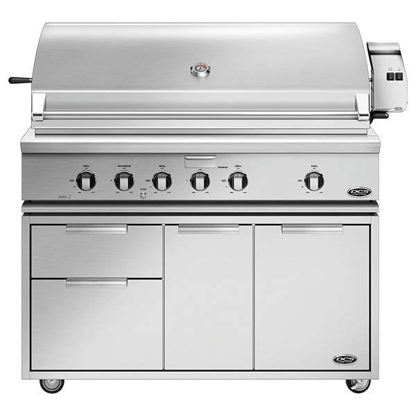 "DCS 48"" Traditional Grill With Rotisserie On Cart - BH1 Model 7 Series"
