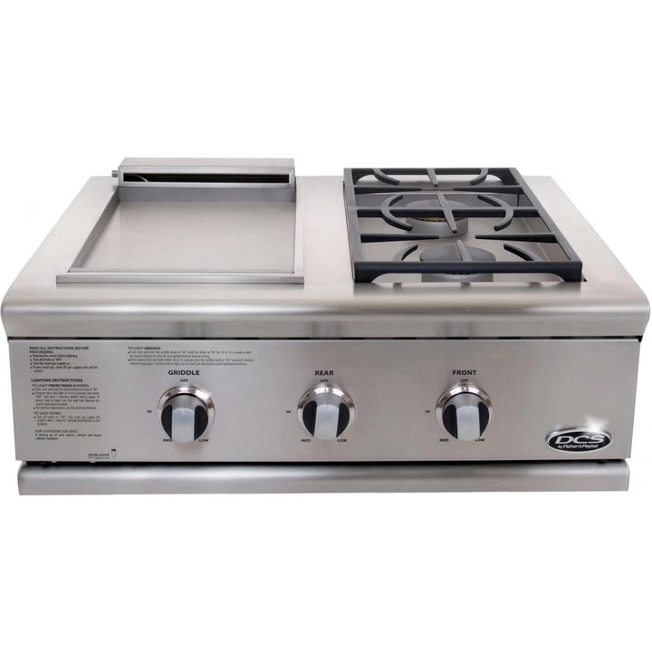 DCS Liberty Dual Side Burner And Griddle Unit - BFGC Model 7 Series