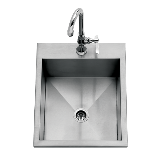 "Delta Heat 15"" Drop-In Sink"