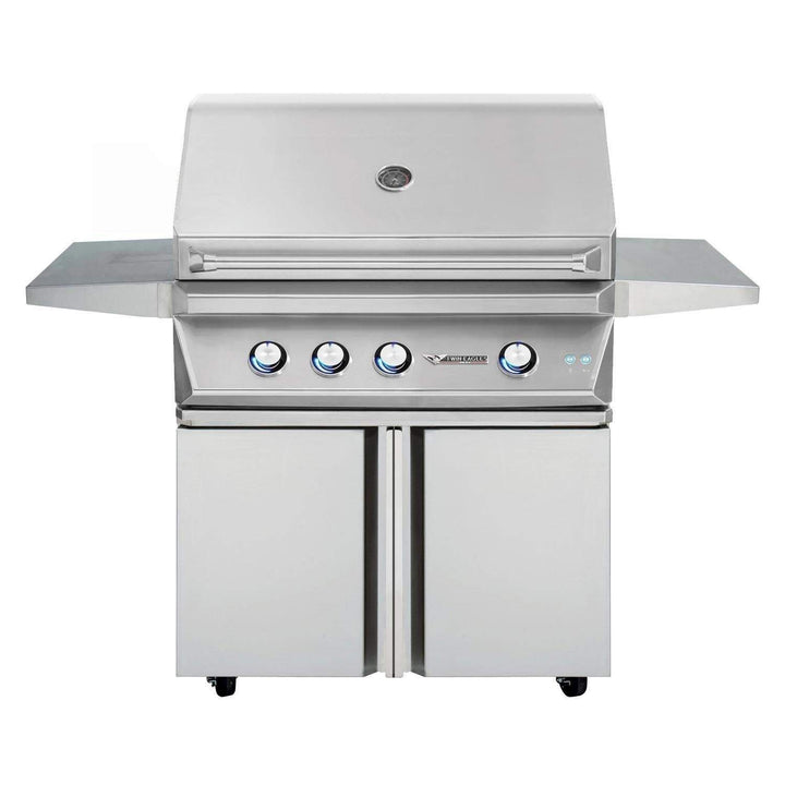 "Twin Eagles 36"" Gas Grill Base with 2 Doors"