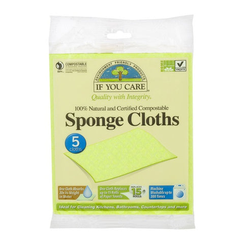Sponges - Natural Cellulose, Reusable and Washable