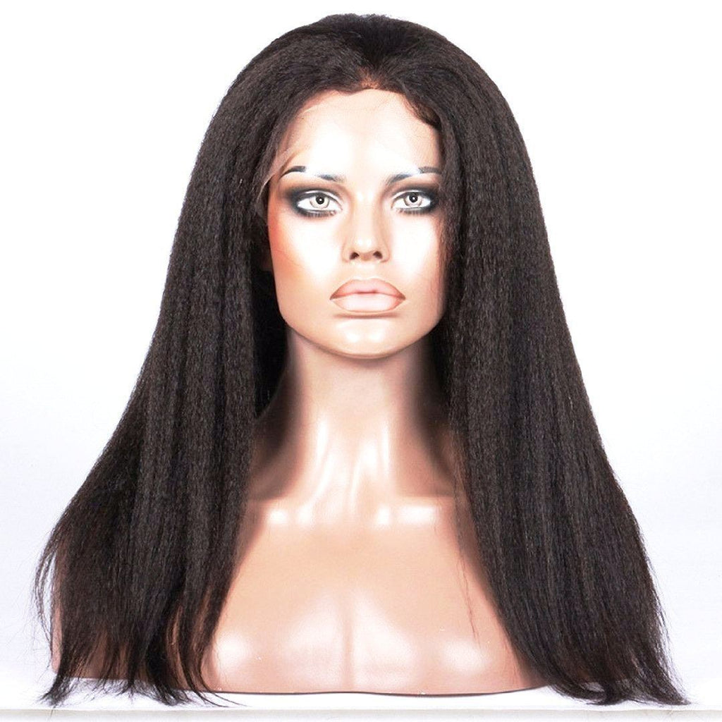 Kinzie Kinky Straight  Full Lace Wig 22 Inch