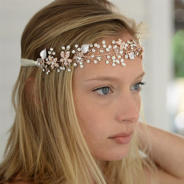 Mrs. Larissa Bridal Headband