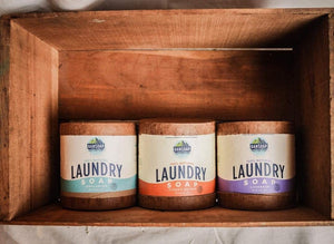 DANSOAP - All Natural, Plastic-Free Powder Laundry Soaps