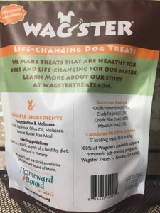 Vegan, Cruelty-Free, All Natural Wagster Dog Treats Made In Marin