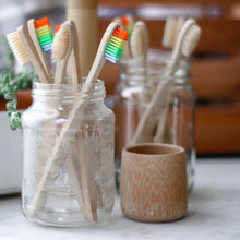 Load image into Gallery viewer, Zero Waste Bamboo Toothbrush