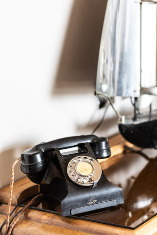 Bakelite telephones are included in all the rooms