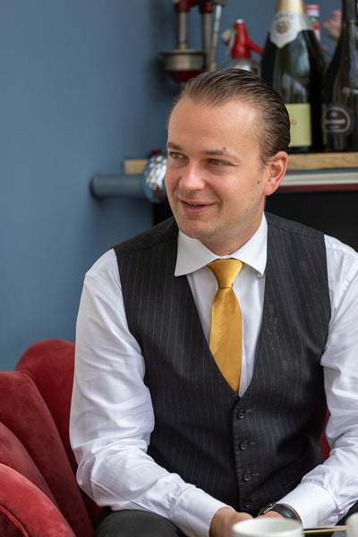 Vladimir Krupa, general manager at Burgh Island Hotel