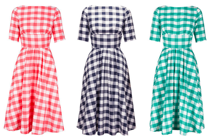 Dollydagger Katie Gingham Dresses